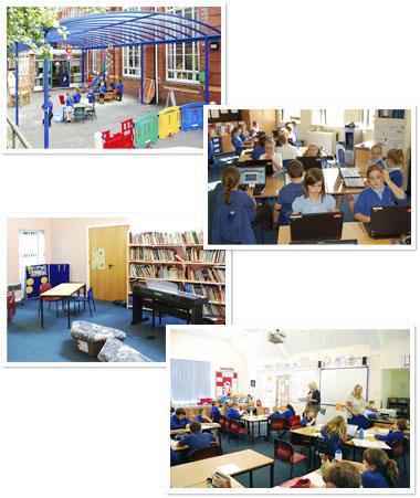 Coalbrookdale school Classrooms