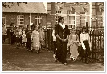 Victorian Reenactment at Coalbrookdale School