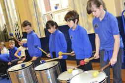 Coalbrookdale School Drumming