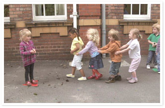 Children at Nursery
