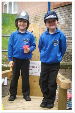 School Uniform at Coalbrookdale